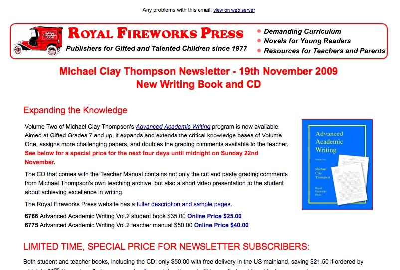 Royal Fireworks Press