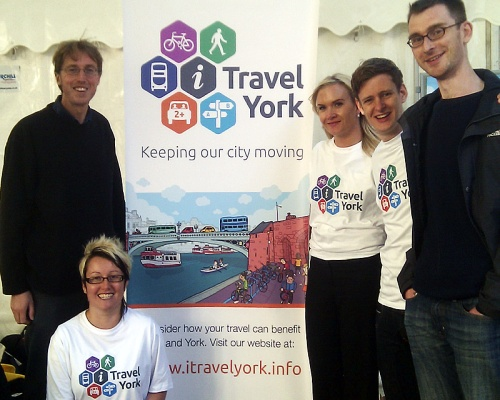 Castlegate IT and Diva Creative staff at the i-Travel York launch