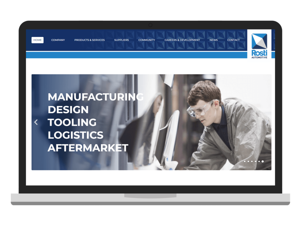 web design for industry