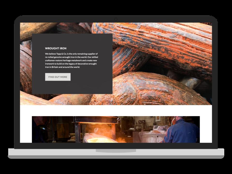 Topp & Co desktop visualisation