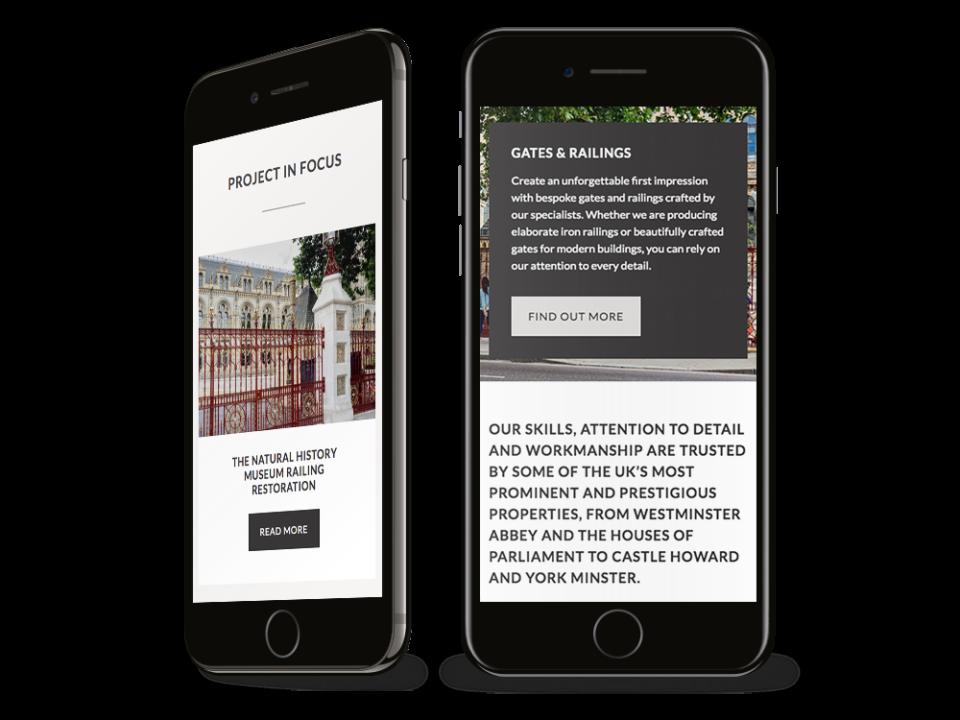 Topp & Co mobile visualisation