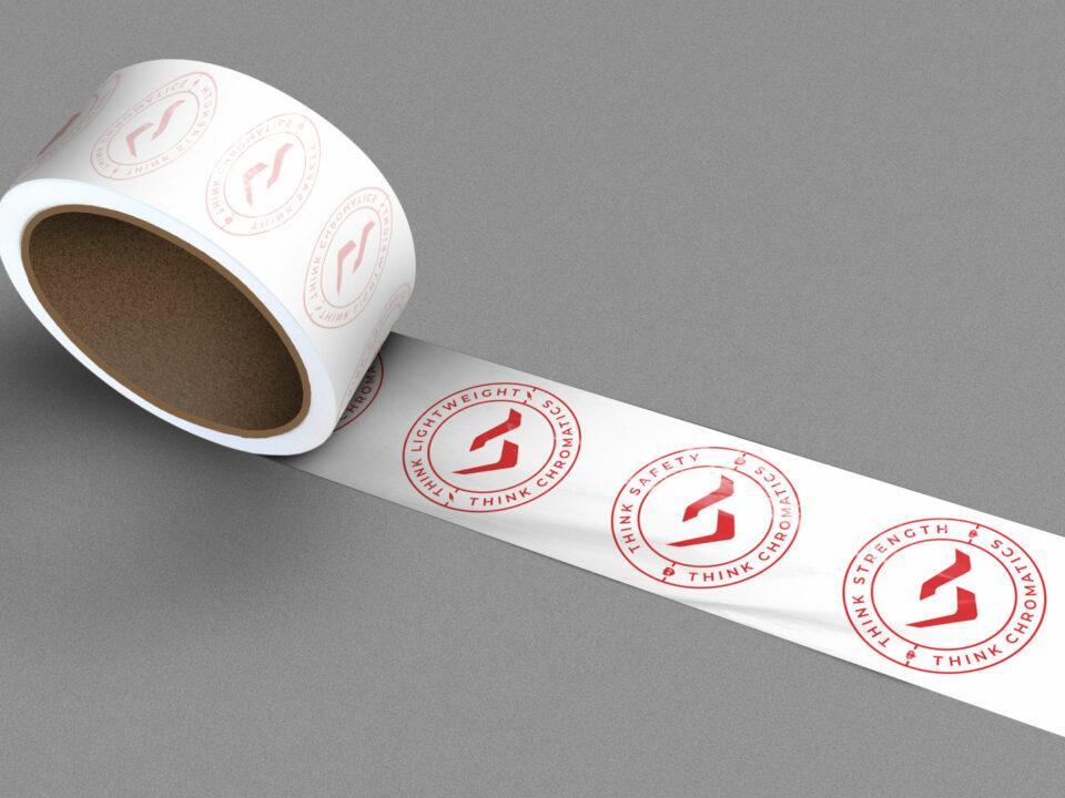 Chromatics Glass tape roll visual