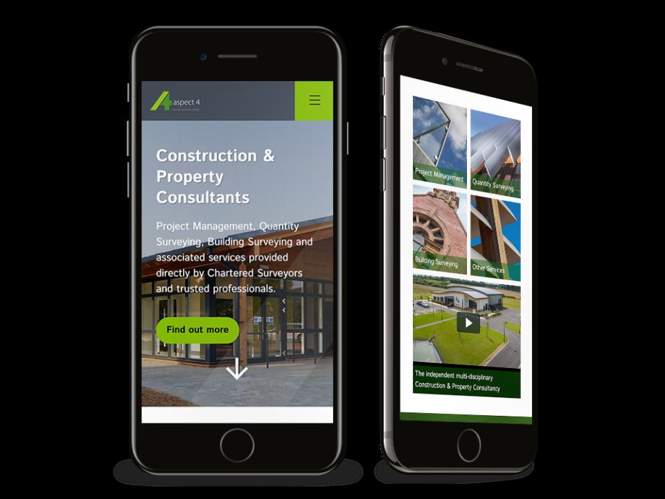 Aspect 4 mobile site visualisation