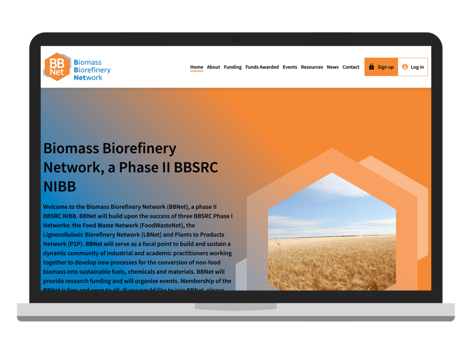 BBNet desktop visual