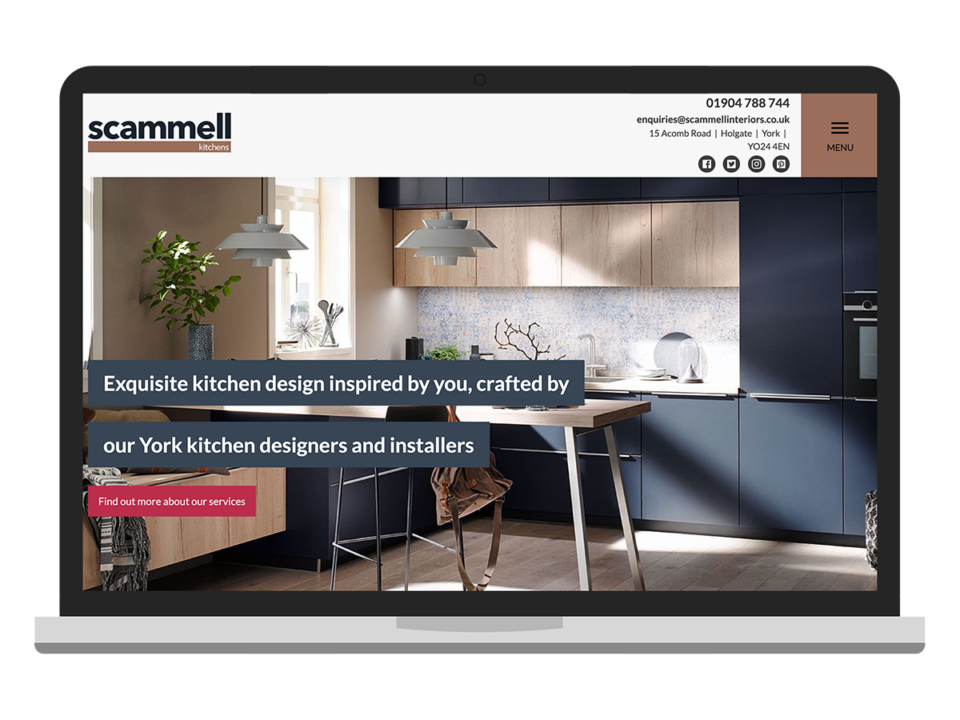 Scammell Kitchens desktop visualisation
