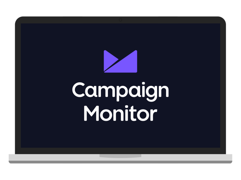 campaign monitor logo on screen
