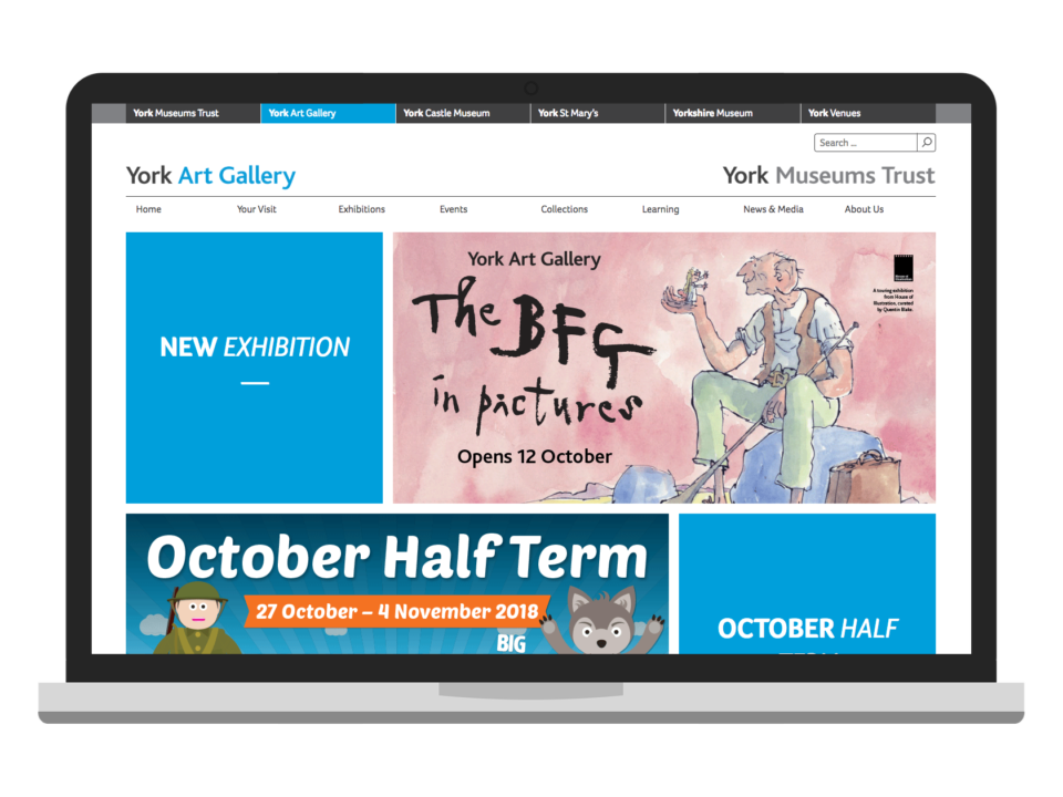 York Art Gallery desktop visual