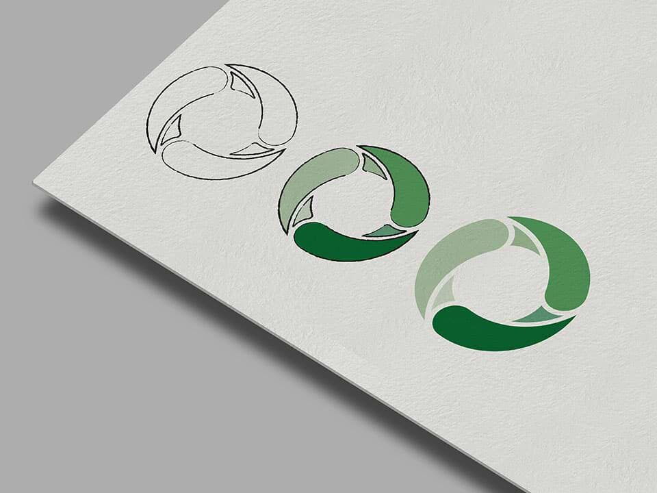High end logo design for local government visualisation